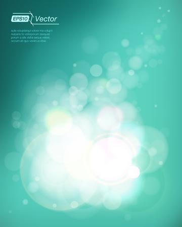 Shining bubbles background Vettoriali