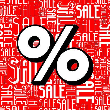 show window: Seamless Sale Background
