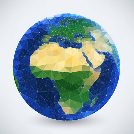 Abstract illustration of Earth