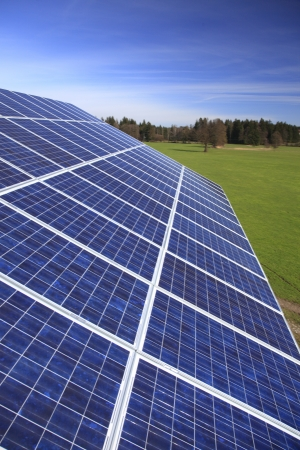 Photovoltaic modules are installed on a house