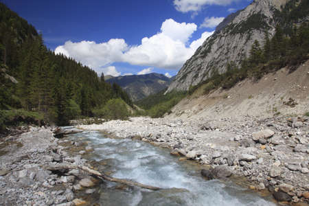 creek in natural landscape in Europe Stock Photo - 9678438
