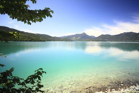 green lake walchensee in Bavaria south Germany Stock Photo - 9991202