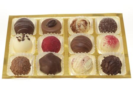 eetbare chocolade in een mooie doos