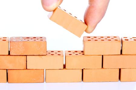 buildup: buildup a wall with the last brick