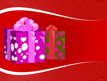 Gifts for New Year Vector