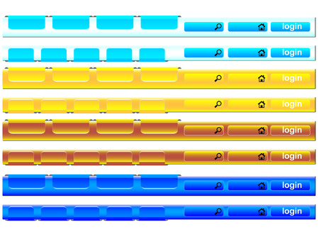 Navigation bar Stock Vector - 6066652