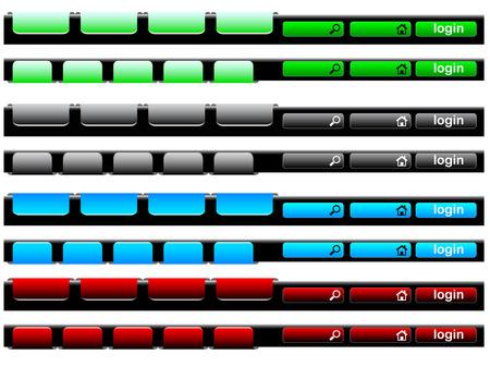 Navigation bar Stock Vector - 6066617