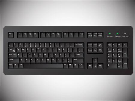 Computer keyboard Stock Vector - 6066686