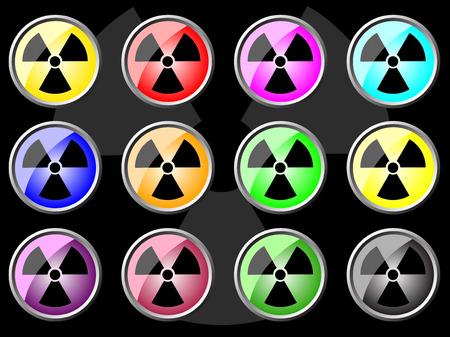 Radiation icon Stock Vector - 6066684