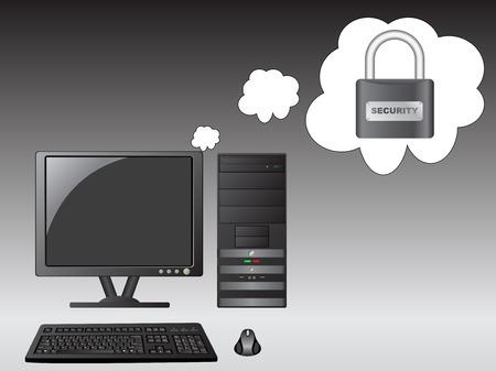 cd case: So�ando en seguridad de PC