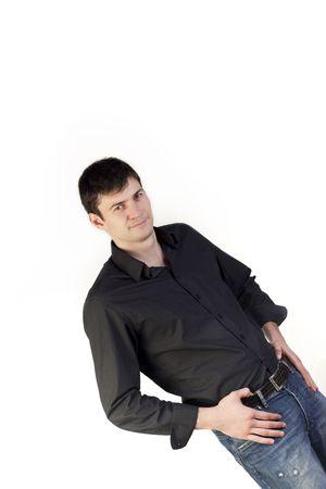 Young man looking at camera Stock Photo - 6227389