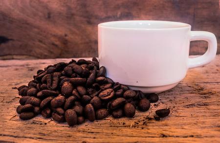 frijoles: El caf� fresco de la ma�ana