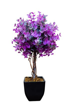 fake: Purple fake flowers