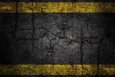 furrows: Textured road crack asphalt background.