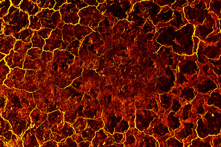 Lava ground textured background.
