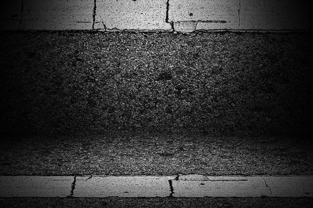 textured wall: Wall asphalt textured background. Stock Photo