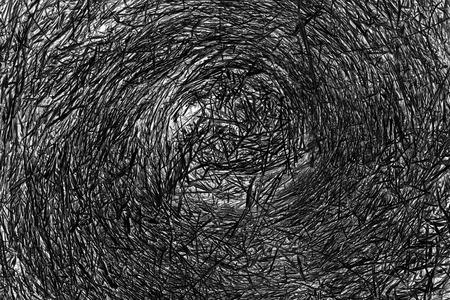 hayroll: Straw black and white background