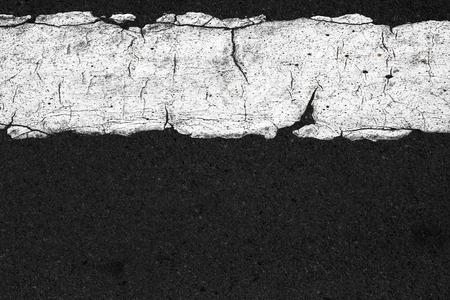 road surface: Black asphalt road line surface background.