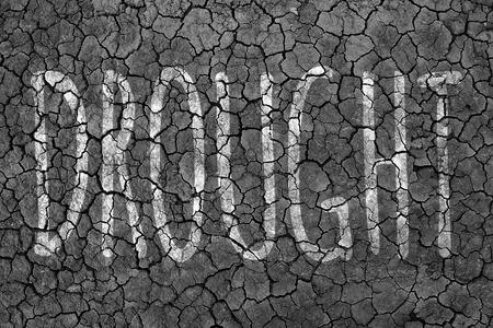 sequias: fondo área de sequía.