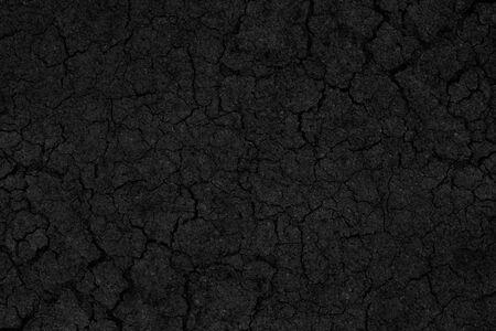 road surface: Black crack asphalt road surface background.