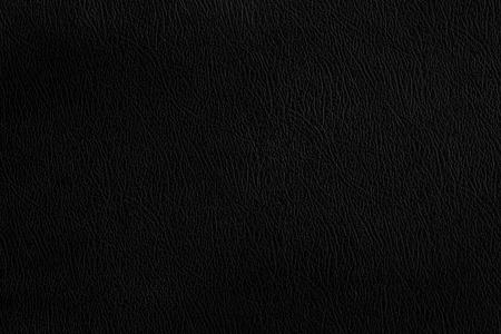 black leather texture: Black leather texture dark background. Stock Photo