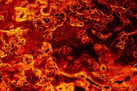 Lava surface textured background. Stock Photo
