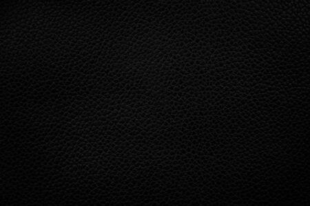 Black leather texture background, Leather.