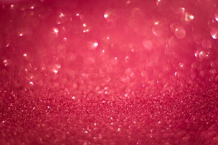 Pink shining lights sparkling glittering romantic backdrop blurred background.