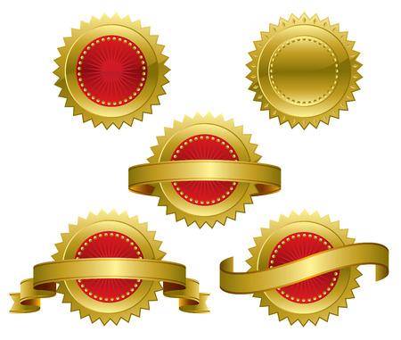 Award Seal Stock Vector - 6461765