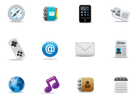Web Icons und buttons