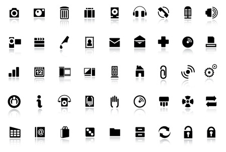Web icons - internet icon collection Vector