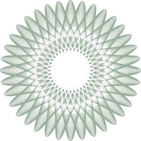 guilloche pattern: roseta de garant�a, marca de agua
