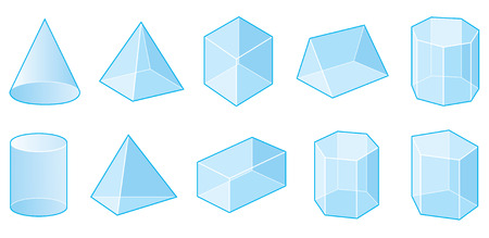 three dimensional shape: 3D Shapes