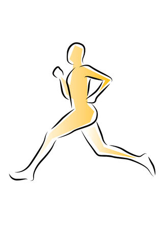 Running - Sprinting Vector