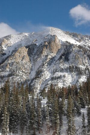 dillon: West side of Peak One near Dillon, CO in Summit County