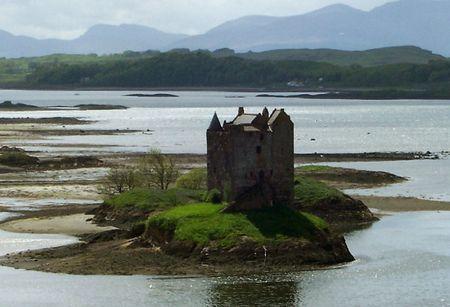 lochs: Castle Stalker