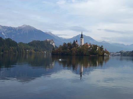 bled: Lake Bled, Slovenia, October 2007