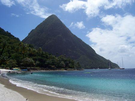 st lucia: Grand Piton, St Lucia
