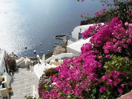 cruising: Oia, Santorini, Greek Island, Greece, Cyclades, Meditaranean Sea, Cruising
