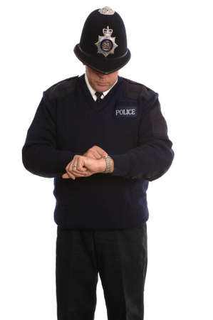 If you want to know the time ask a Policeman.