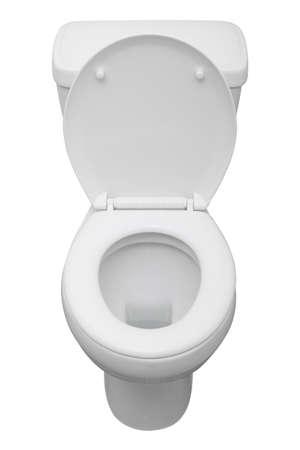 White ceramic toilet isolated on a white background Stock Photo - 4308617