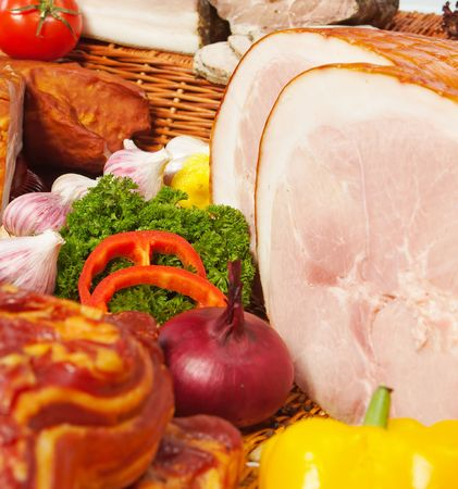 meat with vegetables Stock Photo - 635816