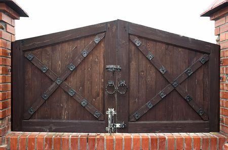 old fashioned gates Reklamní fotografie