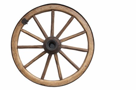 Old fashioned wheel Stock Photo - 801868