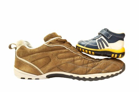 shoes father and son Stock Photo - 801869