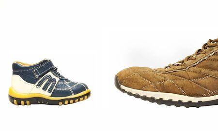 small contra big shoe photo