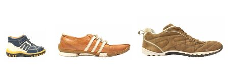 son mother father shoes Stock Photo - 801874