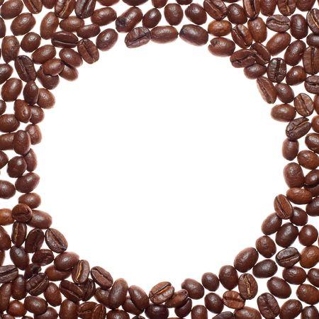 circle coffee frame Stock Photo - 852935
