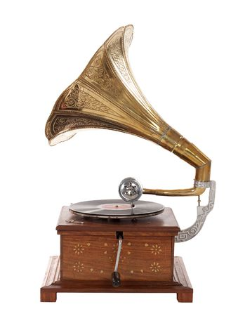 reproductive technology: old gramophone