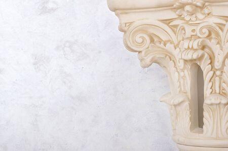 column closeup